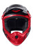 Alpina Fullface Helmet black-red